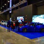 Stoisko Subaru - cała gama łącznie z nową Imprezą